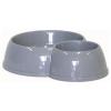 ,Moderna, Eco Bowl dupla kerek tál (sivý)