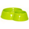,Moderna, Eco Bowl dupla kerek tál (zelený)