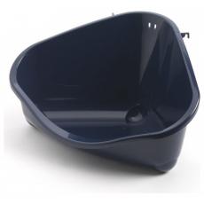 ,Moderna, nagyméretű sarok wc (tmavomodrá)
