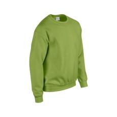 GILDAN kereknyakú pulóver, kiwizöld