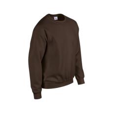 GILDAN kereknyakú pulóver, étcsoki