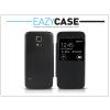 Eazy Case Samsung SM-G800 Galaxy S5 Mini S View Cover flipes hátlap - utángyártott - fekete
