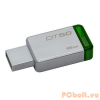 Kingston 16GB DT50 USB3.1 Silver/Green
