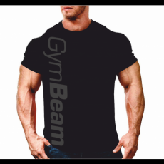 GymBeam Clothing Póló Vertical Black - GymBeam