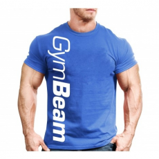 GymBeam Clothing Póló Vertical Blue - GymBeam