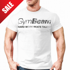 GymBeam Clothing Póló Hard Work White Camo - GymBeam