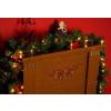 Karácsonyi dísz - girland világítással 2,7 m