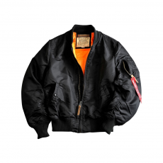 Alpha Industries MA-1 VF 59  Long - fekete