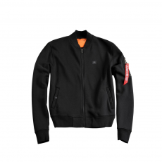 Alpha Industries X-Fit Sweat Jacket MA-1 Női - fekete