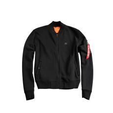 Alpha Industries X-Fit Sweat Jacket MA-1 Női - fekete