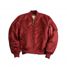 Alpha Industries MA-1 VF 59  Long - burgundy
