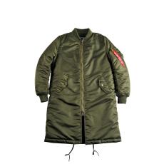 Alpha Industries MA-1 Coat PM Női - dark green