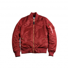 Alpha Industries MA-1 VF PM Női - burgundy