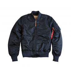 Alpha Industries MA-1 VF 59  Long - replica blue