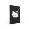 Pp Füzetbox A4 - 1-884A - Hello Kitty Black P+P <10db/dob>
