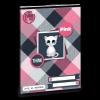 Ars Una Füzet-93637626-A/5 27-32 lap kockás Think-Pink <10db/csomag>