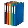 ESSELTE Gyűrűskönyv -17937-RAINBOW A4 4,0cm 2-gyűrűs FEKETE ESSELTE<10db/dob>