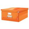 Leitz Doboz -60450044- A3 méretű Narancs CLICK&STORE LEITZ