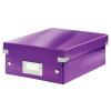 Leitz Rendszerező doboz-60570062- S méret Lila CLICK&STORE