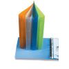 Pp Gyűrűskönyv műanyag -2-185- A4 4gyűrűs 3, 5cm gerinc OPÁL ZÖLD P+P