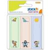 Stick'n Öntapadó jegyzettömb -21241- gyerekek 76 x 25mm 30 lap KIDS STICK'N