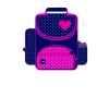 Interdruk Iskolatáska 310x350x160mm I love Heart INTERDRUK <4db/csom>