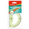KeyRoad Szögmérő -KR971053-K- törhetetlen 180 fokos 10cm KEYROAD <24 db/dob>