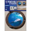 No-name Falimatrica -WALLDEC222- A3 Kabinablak Delfin <2ív/ csom>