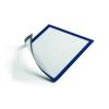 DURABLE Információs tábla -4869/07- mágneses A4 Kék DURAFRAME <5db/csom>