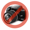 AngryBirds Füzetcímke 160x230mm 10db/ív 25ív/csomag Angry Birds Movie