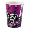 No-name Party Pohár - 250 ml, Monster High<8db/ csom>