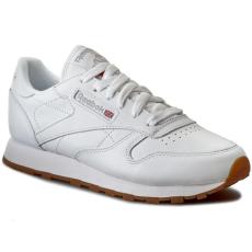 Reebok Cipők Reebok - Cl Lthr 49803 White/Gum