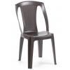 Báthory Háztartási és Műanyagáru PROCIDA szék  barna színben