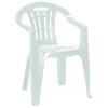 CURVER Mallorca műanyag kerti szék, sötét zöld színben