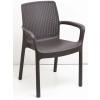 Báthory Háztartási és Műanyagáru REGINA szék barna  színben