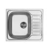 Deante Soul rozsdamentes mosogató egy medence + csepegtető szatén