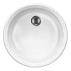 Deante Lustiano kerámia egy medence+csepegtető mosogató fehér
