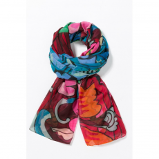Desigual Foulard Ikara Rectangle Sál D (67w54a1-p_3001-Fresa)