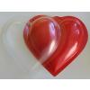 PVC szív 11 cm ( 2 db fél)