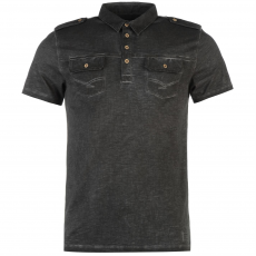 Firetrap Pólóing Firetrap Blackseal 2 Pocket Oil fér.