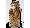 DEDRA LAGOON pléd plüss figurával - tigris (LAGOON pléd plüss figurával - tigris) babaágynemű, babapléd