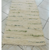Zöld beszövéses nyers rongyszőnyeg 55cm széles/Cikksz:0510354