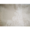 Drapp vászon maradék, virág motívumokkal 3db egyben/0014/Cikksz:1231428