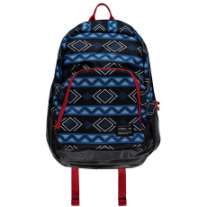 O'Neill BM Wedge Backpack Hátizsák,táska D (O-624008-p_9950-BLACK AOP W_ BLUE)