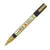 Dekormarker UNI POSCA PC-3M 0.9-1.3 mm, kúpos, ARANY