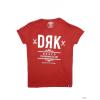 Dorko Unisex Rövid ujjú T Shirt WINE DRK FRONT TEE