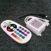Life Light Led RGB led szalag vezérlő, ovális távvezérlő, infrás 24 gombos 12V, 72W, 2 év garancia led