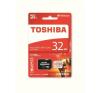 "Toshiba Memóriakártya, Micro SDHC, 32GB, Class 10, adapterrel, TOSHIBA ""M302 U3"" memóriakártya"
