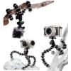 Sec-CAM SJ/GP-116, kisméretű flexibilis gömbcsuklós ÁLLVÁNY - SJCAM és GoPro akciókamerához - SJCAM SJ4000, SJ5000, X1000 sorozatokhoz