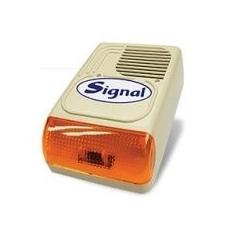 Signal PS-128AL-7 kültéri hang-fényjelző + LED biztonságtechnikai eszköz